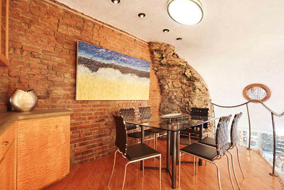 Grotto-esque Chelsea listing at 121 West 15th Street