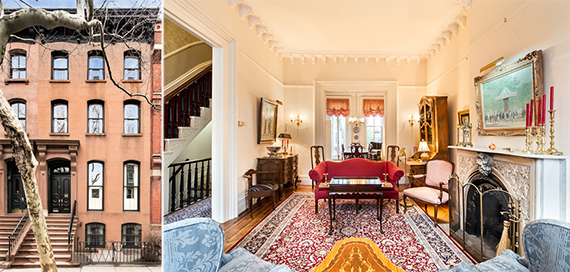 28 Garden Place in Brooklyn Heights asking $6.2 million