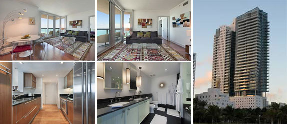 """A """"small"""" unit in the Setai in Miami that is on the market for $2.5 million"""