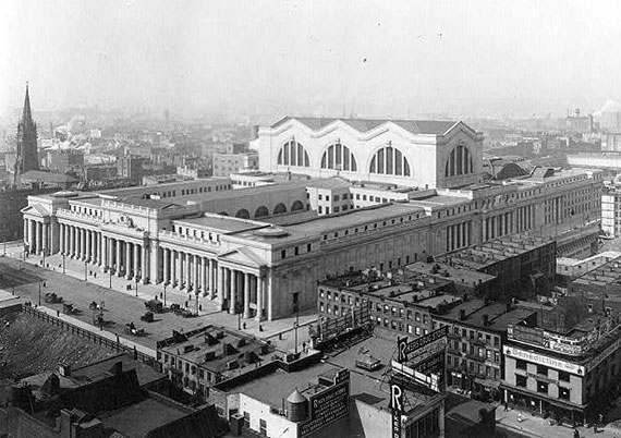 The original Penn Station, which was demolished in the 1960s
