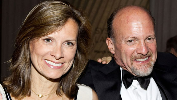 Jim Cramer and Lisa Cadette Detwiler