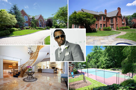 Diddy's New Jersey home