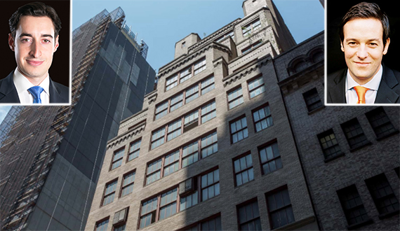 315 West 35th Street in Midtown (inset, from left: Joe Koicim and Peter Von Der Ahe)