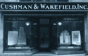 An old Cushman & Wakefield storefront
