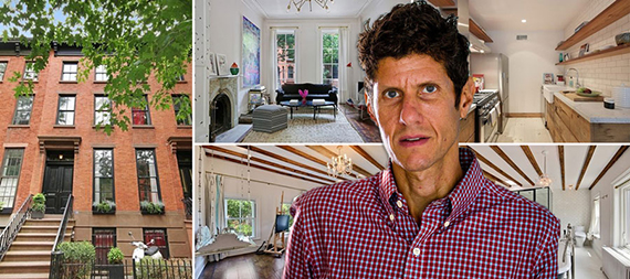 148 Baltic Street in Cobble Hill and Mike D of the Beastie Boys