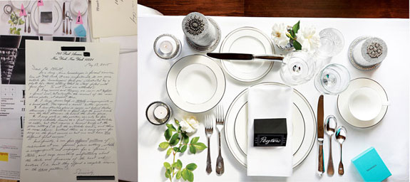 An informed reader set LLNYC straight on the finer points of table setting