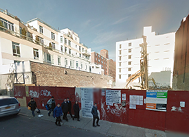 208-210 Delancey Street on the Lower East Side