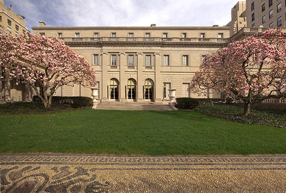 Frick Collection at 1 East 70th Street on the Upper East Side