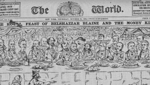 A cover of Joseph Pulitzer's The New York World newspaper