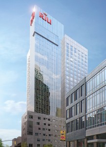 Rendering of the Riu Hotel Times Square at 301 West 46th Street
