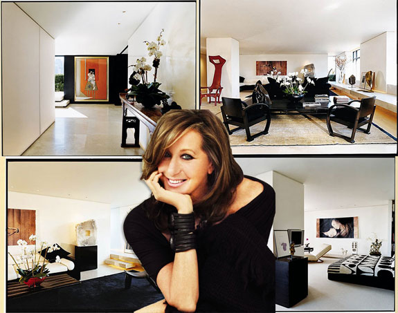 Donna Karan and her home