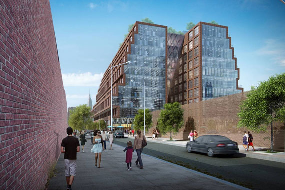 A rendering of 25 Kent Avenue