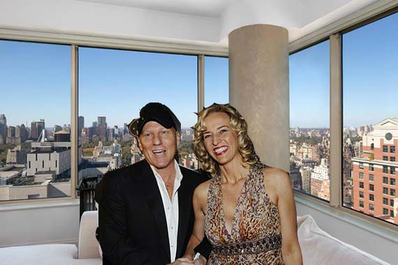 Steve and Wendy Madden and a Trump Palace apartment