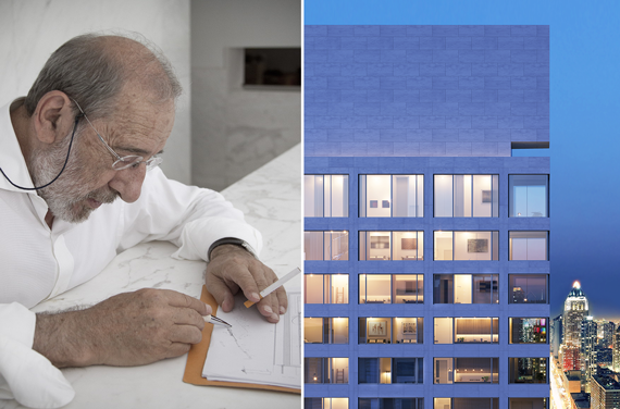 Alvaro Siza and his new Hell's Kitchen project (credit: Noë & Associates with The Boundary and FG+SG – Fotografia de Arquitectura)