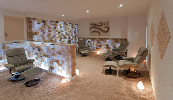 Inside the Breathe Easy Oasis Spa
