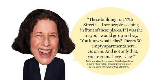 Fran Lebowitz funny quotes