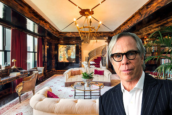 Tommy Hilfiger and his Plaza penthouse