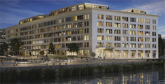 A rendering of 184 Kent Avenue