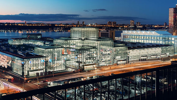 Rendering of the Javits Center