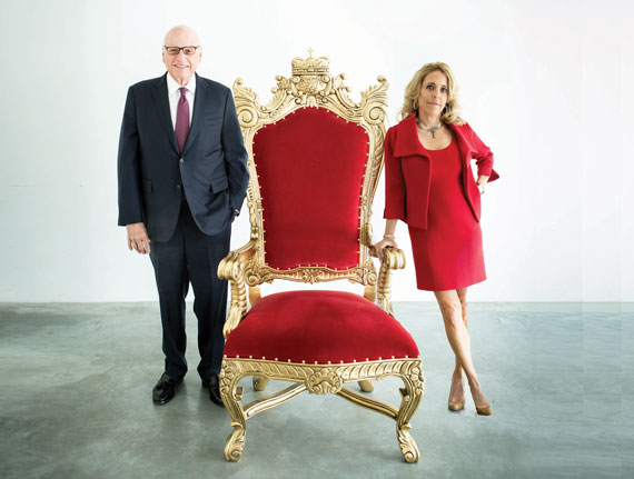 Douglas Elliman Chair Howard Lorber, Corcoran Group CEO and Pam Liebman (Photo by Studio Scrivo)