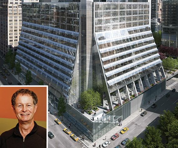 5 Manhattan West (inset: John Mackey Co-Ceo of Whole Foods)