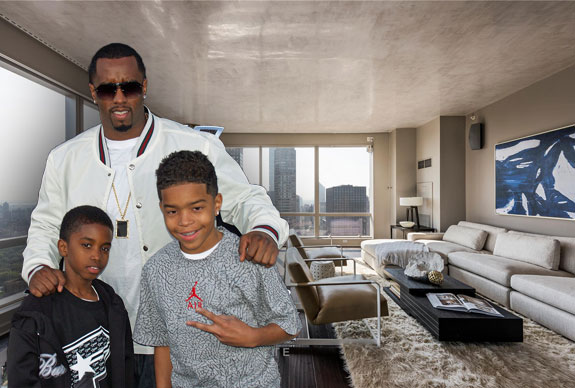 Sean Combs with his sons (Photo credit: David Shankbone via Wikipedia)