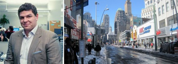 Tucker Reed and Downtown Brooklyn