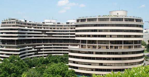 The Watergate building