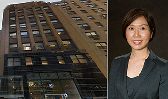 From left: 160 East 56th Street and Meridian's Helen Hwang