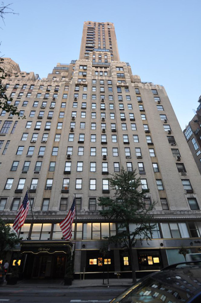 The Carlyle Hotel at 35 East 76th Street