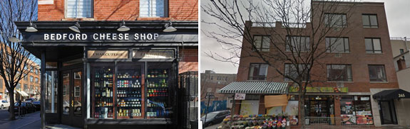 The Bedford Cheese Shop and 265 Bedford Avenue