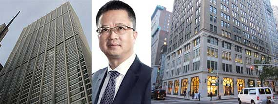 From left: 28 Liberty Street, Liang Xinjun and 126 Madison Avenue