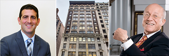 From left: Abraham Hidary, 53 West 36th Street and Effy Hematian