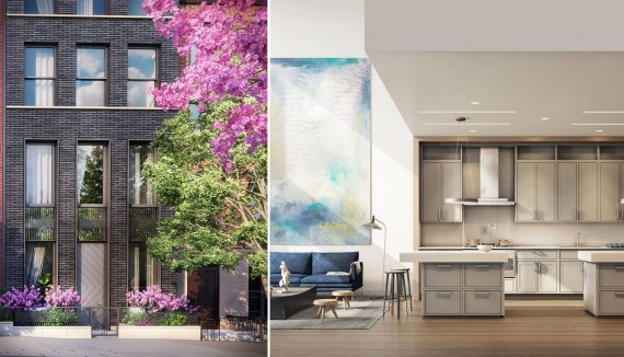 Renderings of Long Island College Hospital condo project in Brooklyn