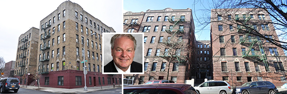 2101 and 2499 Grand Ave (inset: Prana Investments' Neil McKinnon)