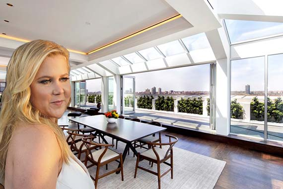 Amy Schumer and 190 Riverside Drive