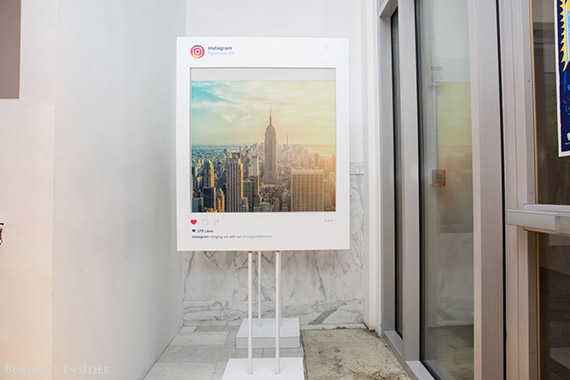 Across all of its 66 offices and data centers worldwide, Facebook — which has a market cap of $280 billion as of mid-November — employs almost 16,000 people. About 1,000 of them work in the Frank Gehry-designed Manhattan location, which also houses members of the company's Instagram team. Facebook occupies four floors of the building, which was once a Wanamaker's department store. (credit: Sarah Jacobs via Business Insider)
