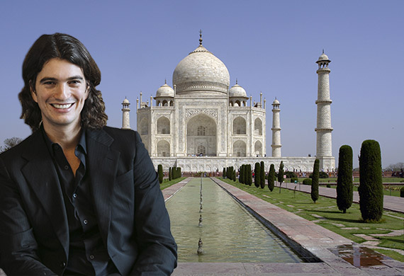 Adam Neuman and Taj Mahal