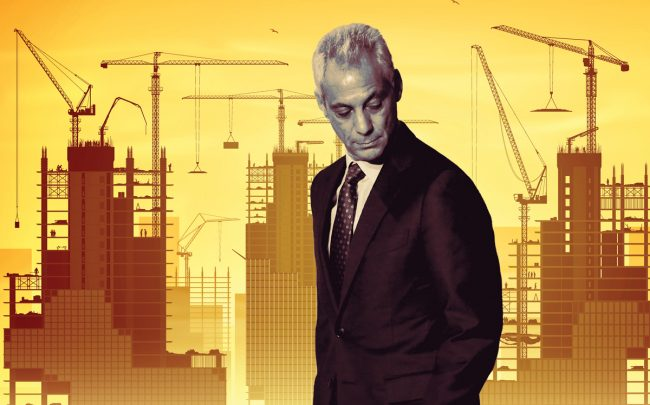 Outgoing Mayor Rahm Emanuel (Credit: Getty Images and iStock)