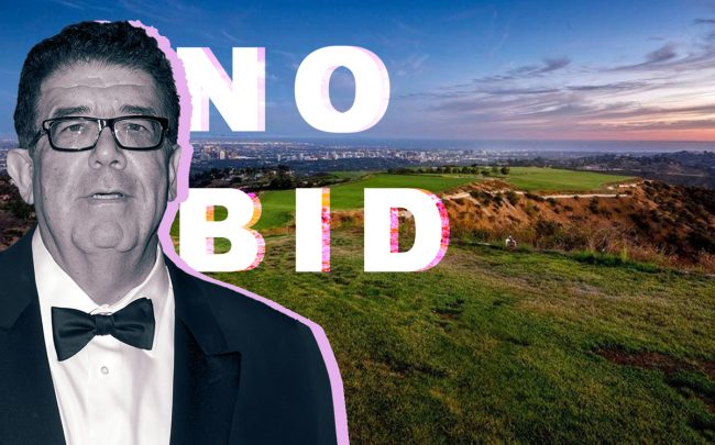 Victorino Noval and the Mountain of Beverly Hills (Credit: Getty Images and Redfin)