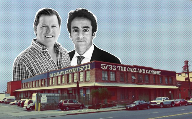 Green Sage founder Ken Greer , Lotus Property CEO Faisal Ashraf, and the Cannery on San Leandro Street