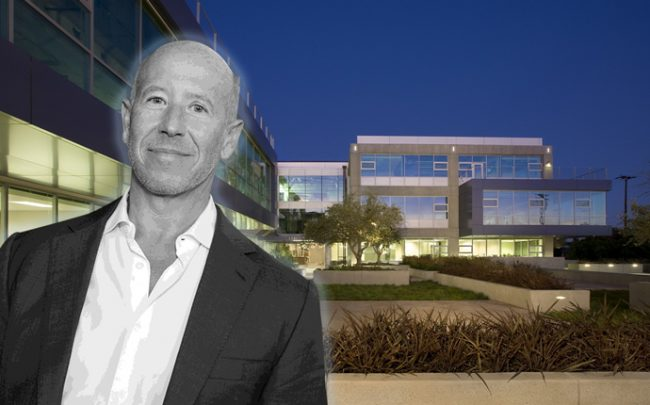 Starwood Capital Group CEO Barry Sternlicht and Lantana campus (Credit: Getty Images and Ehrlich Yanai Rhee Chaney Architects)