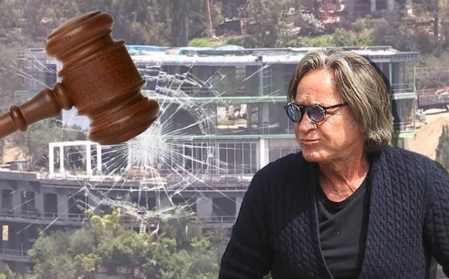 Mohamed Hadid and his spec mansion (Credit: Getty Images)