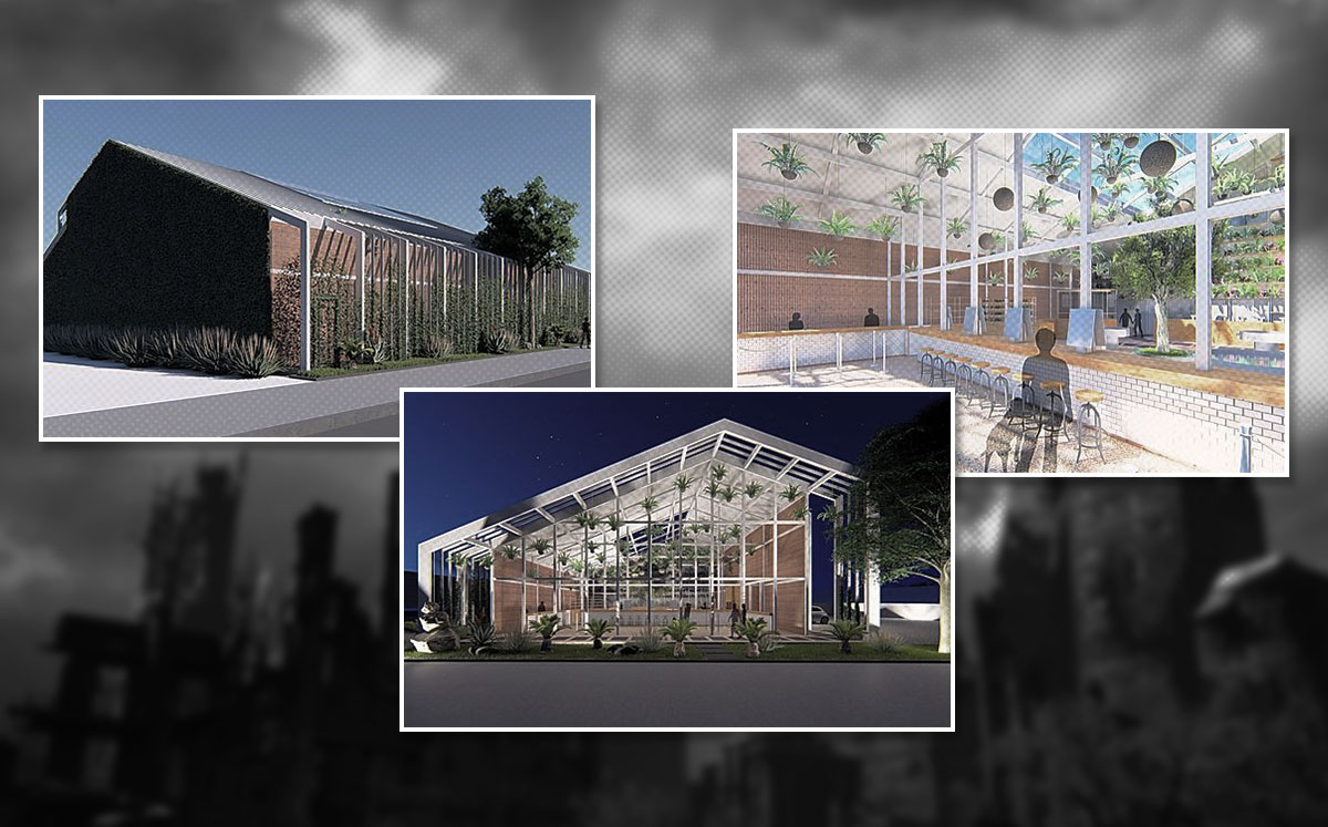 Renderings of what Pacific Collective had planned (Credit: Pacific Collective)
