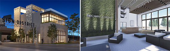 Rendering of Brown Jordan in Miami