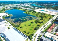 The 47-acre site of Gardens on Millenia in Orlando.