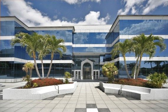 The International Plaza at 7280 Palmetto Park Road in Palm Beach County