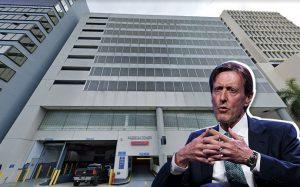 150 West Flagler Street, Robert Morse, executive chairman of Bridge Investment (Credit: Google Maps and Getty Images)