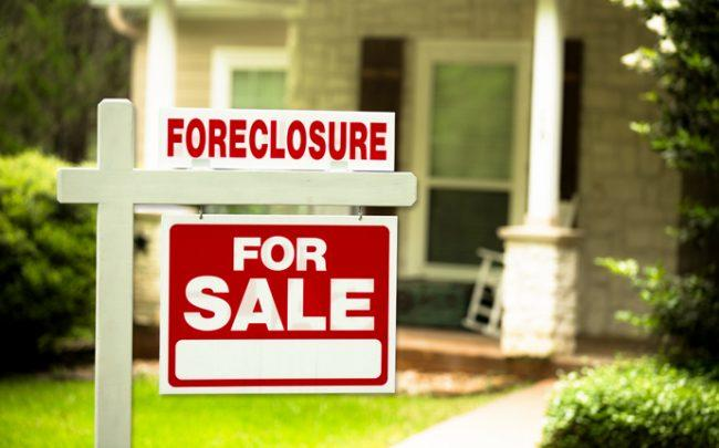 Home foreclosures are dropping