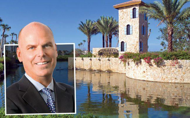 Toll Brothers CEO Douglas C. Yearley, Jr. and Jupiter Country Club